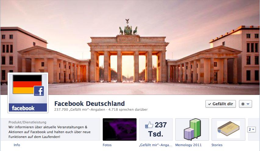 Alles was Sie über die neuen Facebookseiten wissen müssen