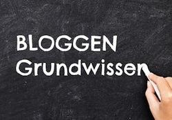 bloggen grundwissen