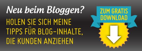 Neu beim Bloggen quer