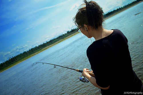 Blog schreiben: Leser gewinnen mit der Angler-Methode