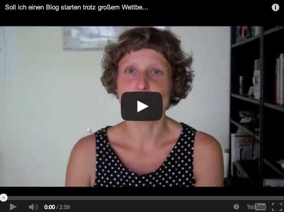 Soll ich einen Blog starten? (Video)