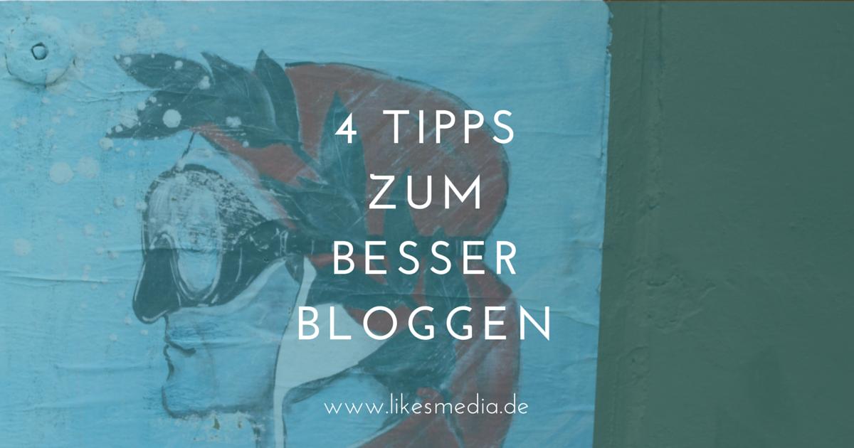 Besser bloggen: Meine Vorsätze und 4 Tipps für dich