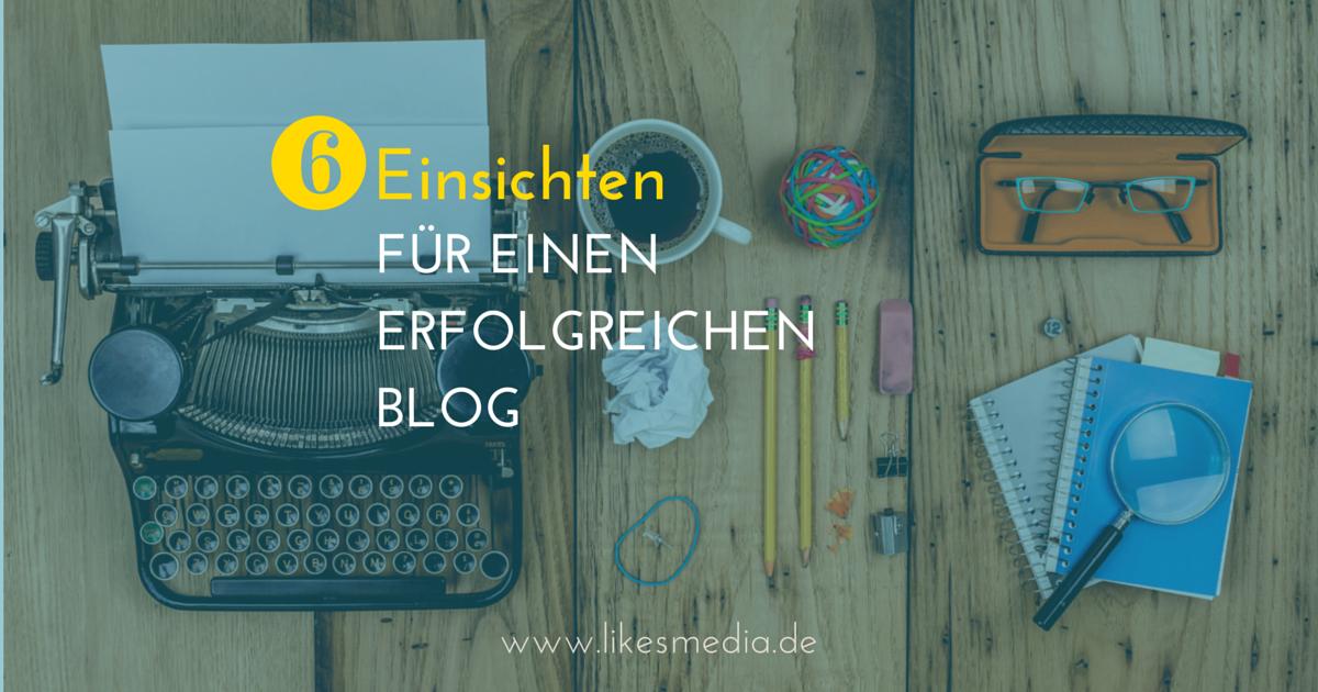 6 Dinge, die ich beim Blog starten über mich und Marketing gelernt habe