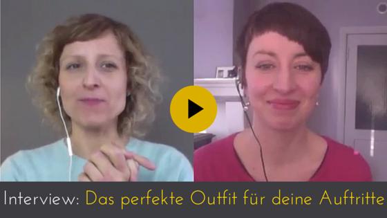 Das perfekte Outfit für deine Video-Auftritte – Tipps von Imageberaterin Sophie
