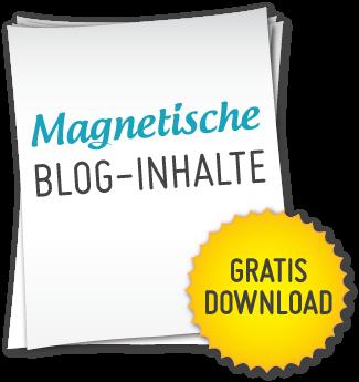 Magnetische Blog-Inhalte