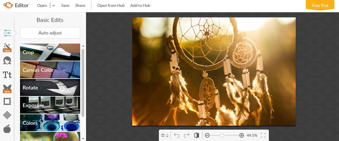 Grafik-Tools online - Picmonkey Editor Tools
