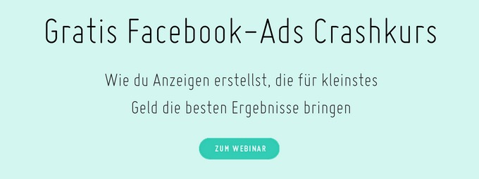 facebook anzeigen kurs