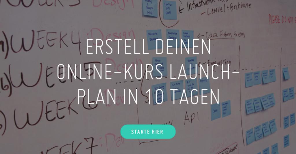 Online -Kurs Launch-Challenge